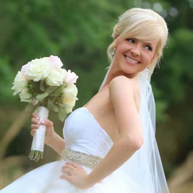 Blonde Bride Spray Tan
