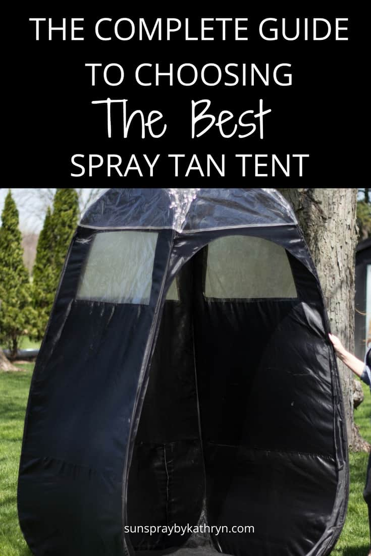 The complete guide to choosing the best spray tan tent sunspray blog