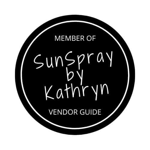SunSpray by Kathryn Vendor Badge